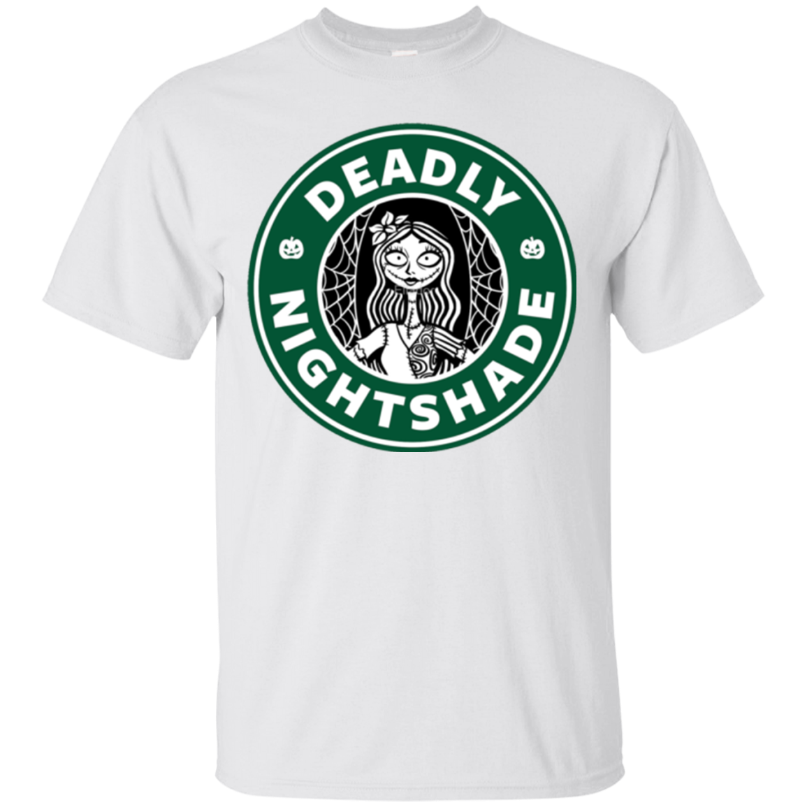 Nightmare before christmas night shade labels black and white png. The starbucks halloween shirts