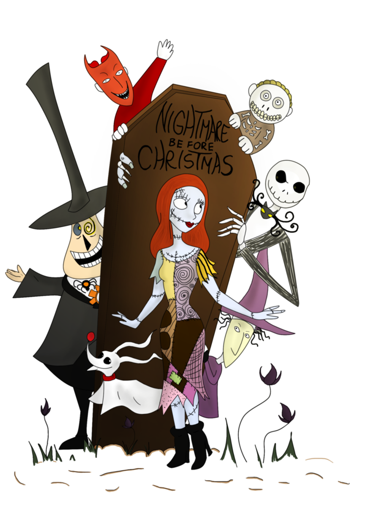 Nightmare before christmas png. By clwnprincessofcrime on deviantart