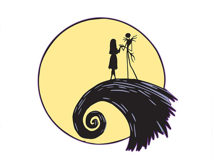 nightmare before clipart