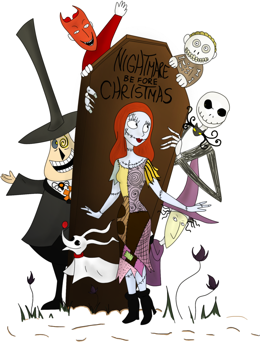 Nightmare before clipart. Free clip arts christmas