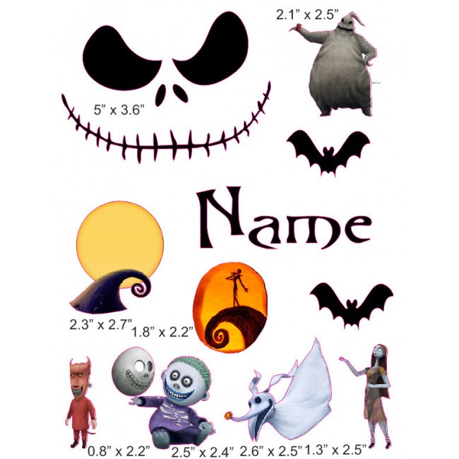 Nightmare before clipart. Christmas cranial band decoration