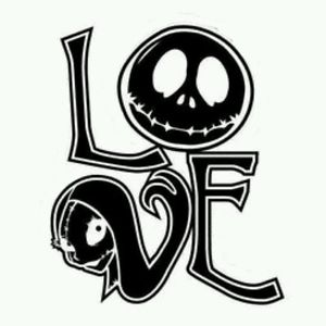Nightmare before clipart jack skellington. And sally christmas love