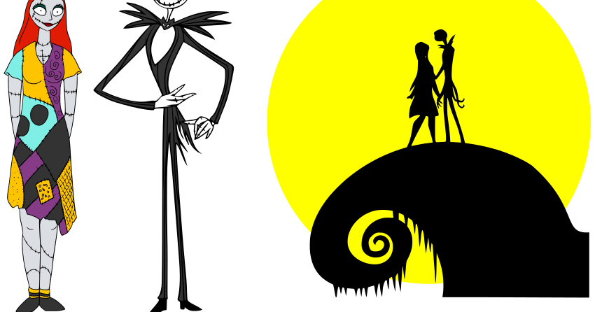 Nightmare before clipart sally. Jack and at getdrawings