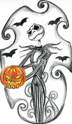 Nightmare before clipart tattoo. Pin by genevi ve