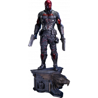 Nightwing arkham knight png. Batman scale statue prime