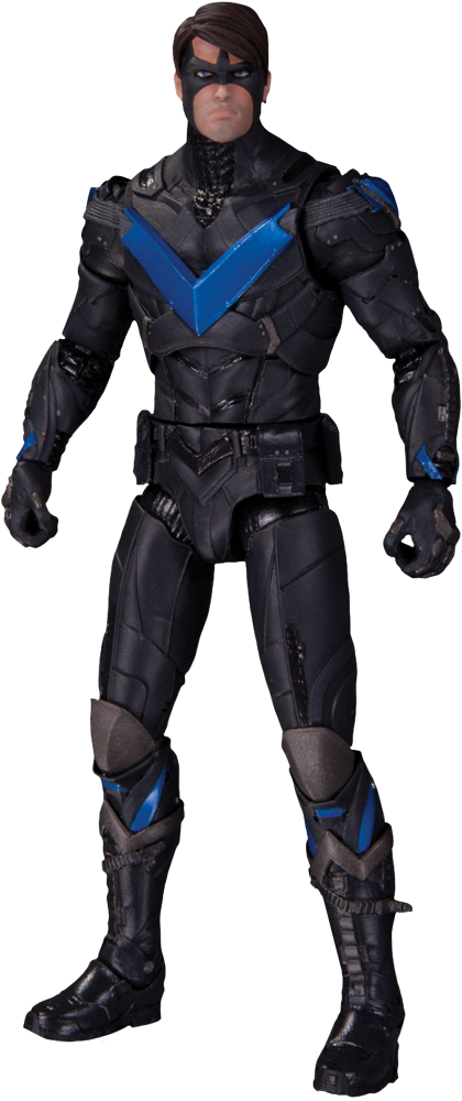 Nightwing arkham knight png. Action figure popcultcha