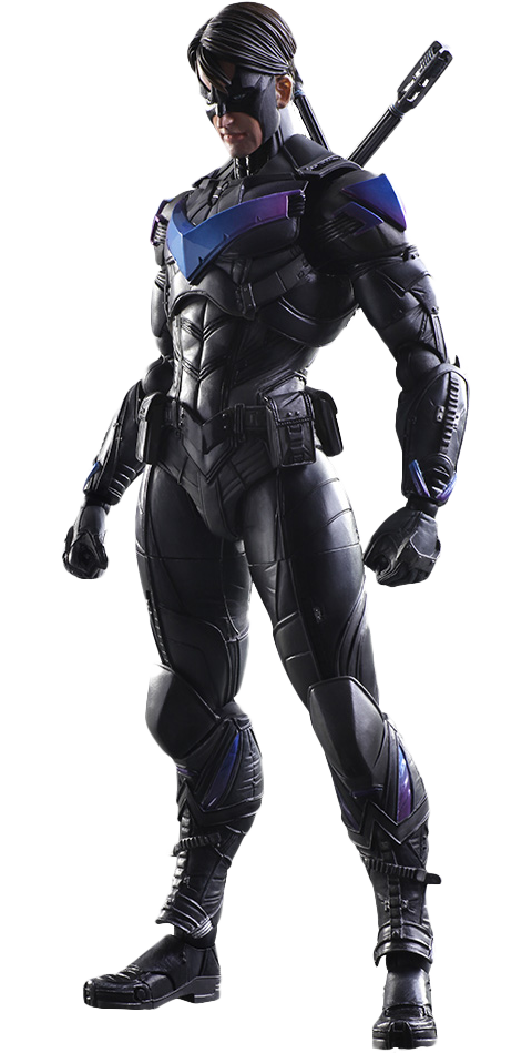 Nightwing arkham png. Collectible figure sideshow collectables