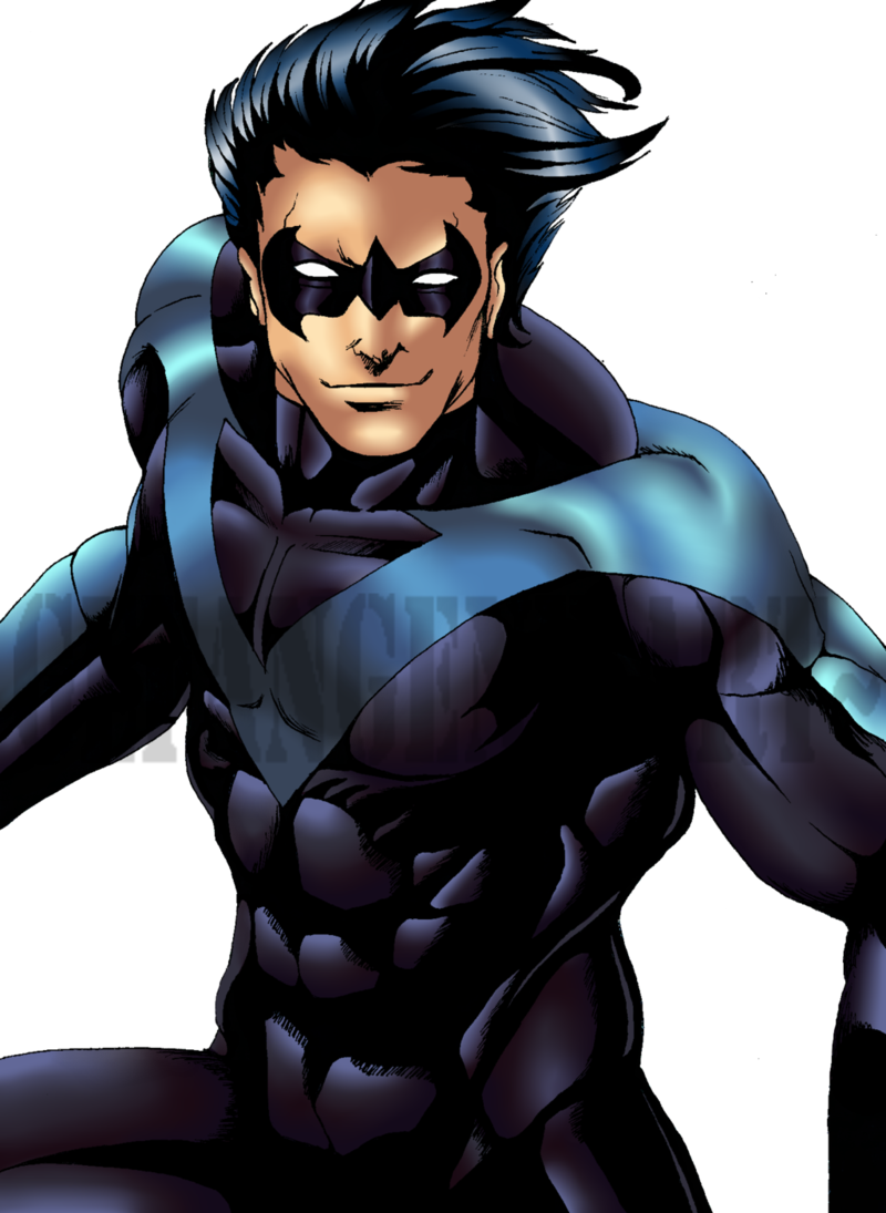 Nightwing cartoon png. Download free transparent background