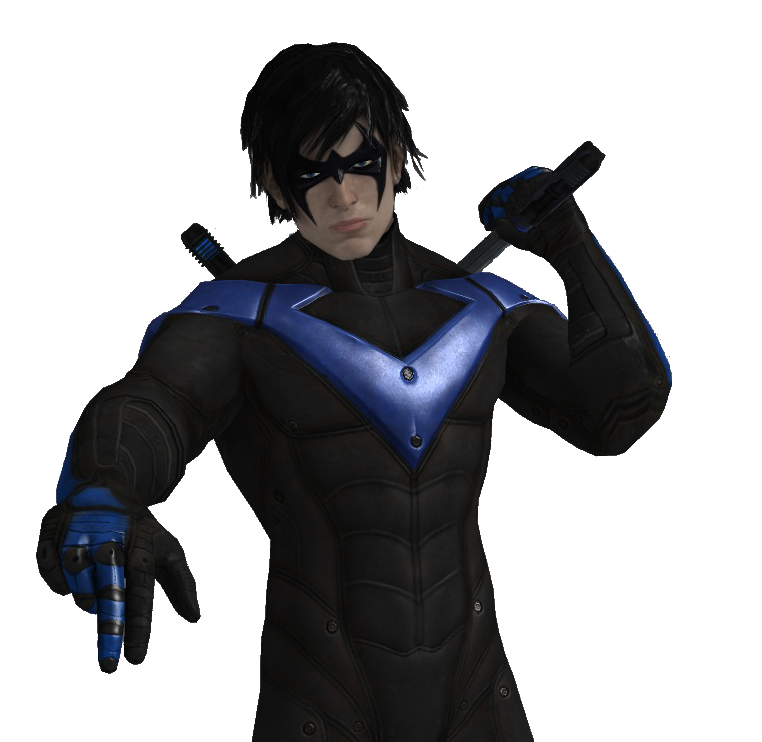 Nightwing cartoon png. Image earth comic crossroads