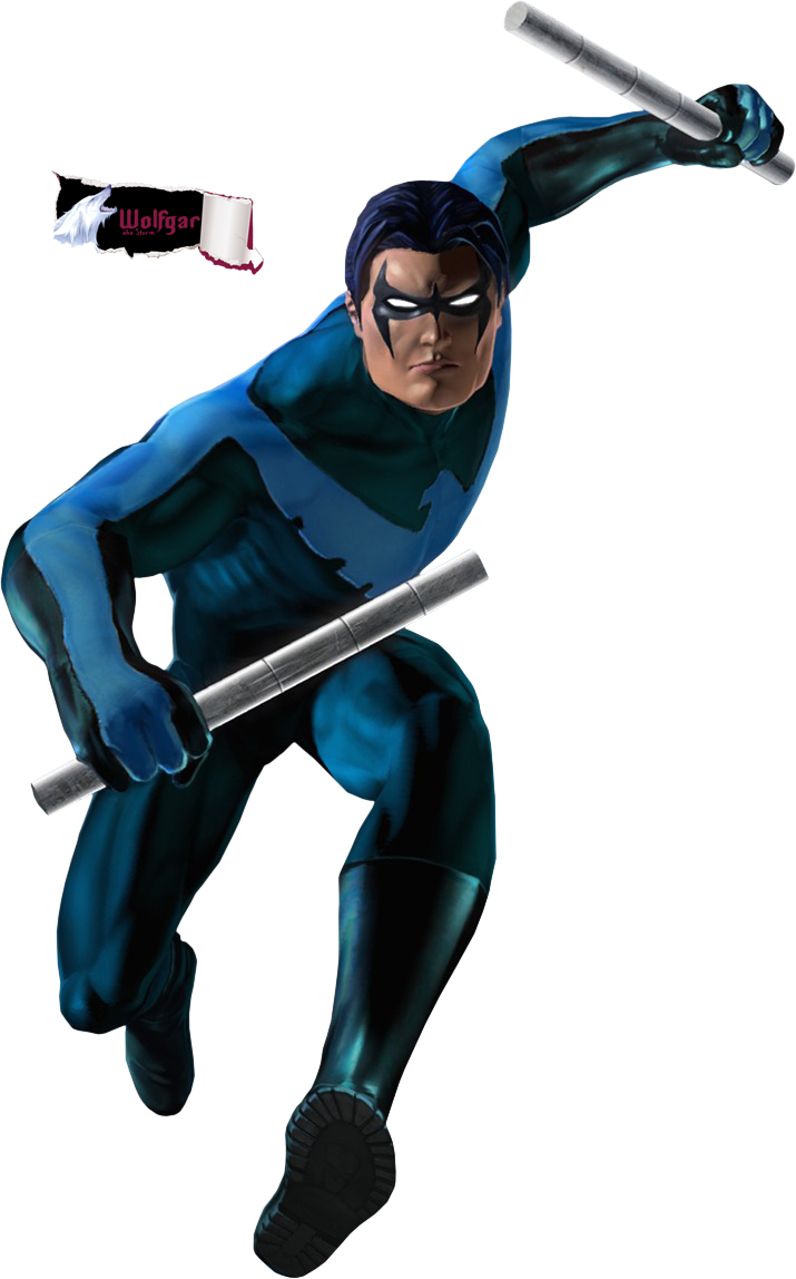Nightwing cartoon png. Picture mart