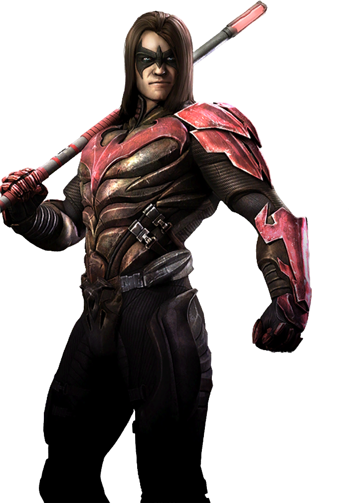Nightwing injustice png. Image injusticenightwingregime gods among