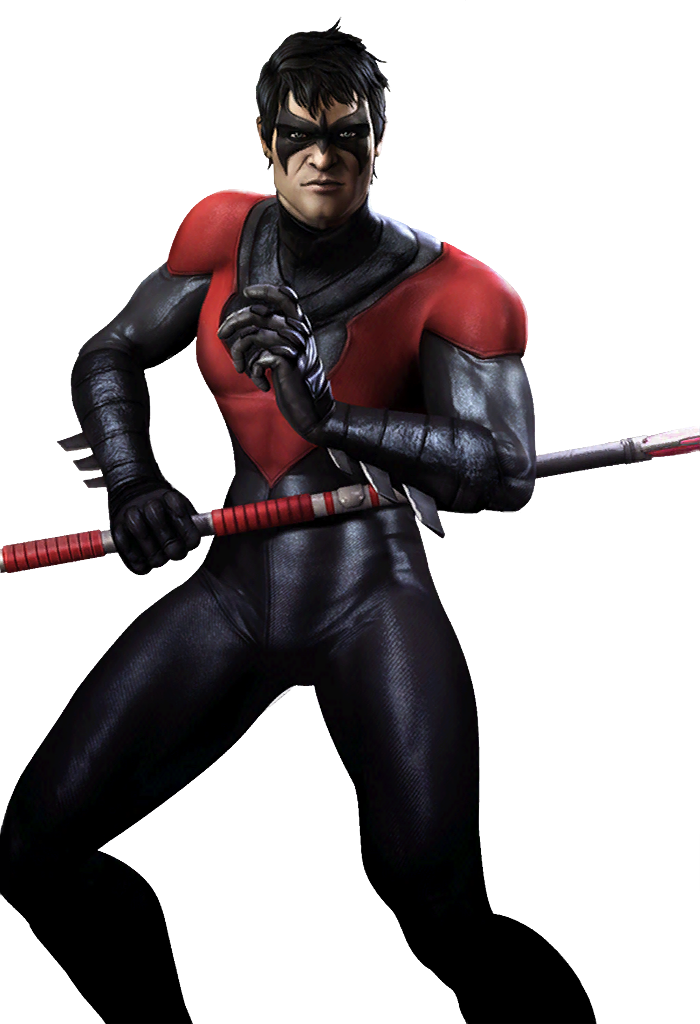 Image injusticenightwingnew gods among. Nightwing injustice png png freeuse library