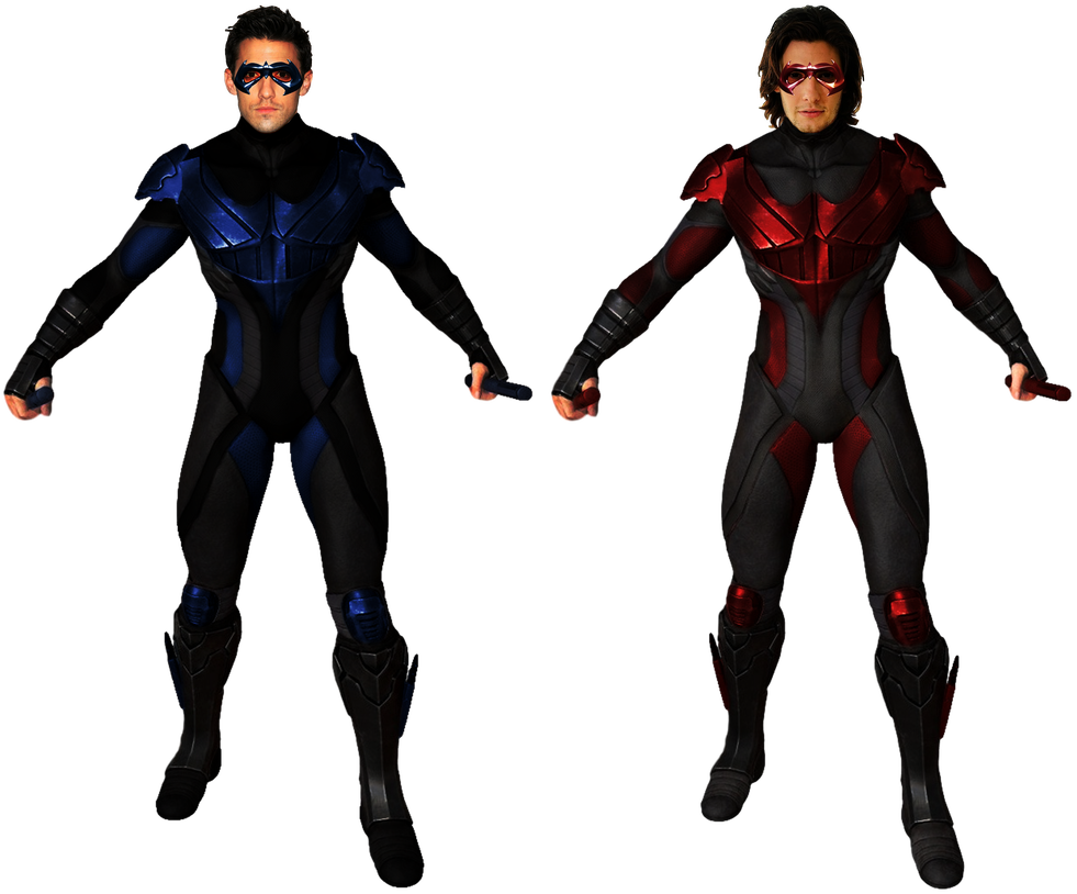 Nightwing injustice png. S transparent background by