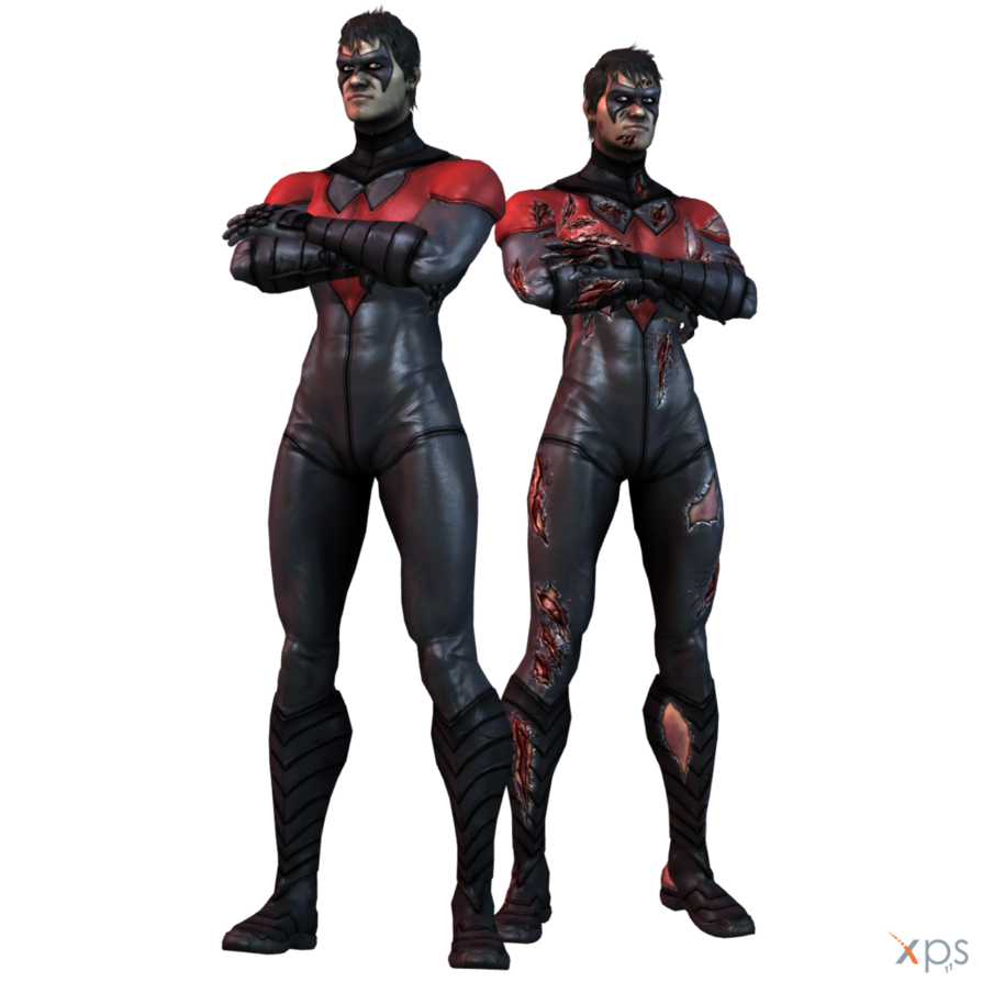 Nightwing injustice png. Igau new by mrunclebingo