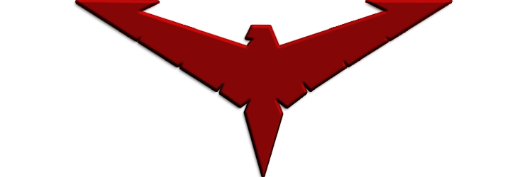 Red nightwing png. Logo by alexbadass on