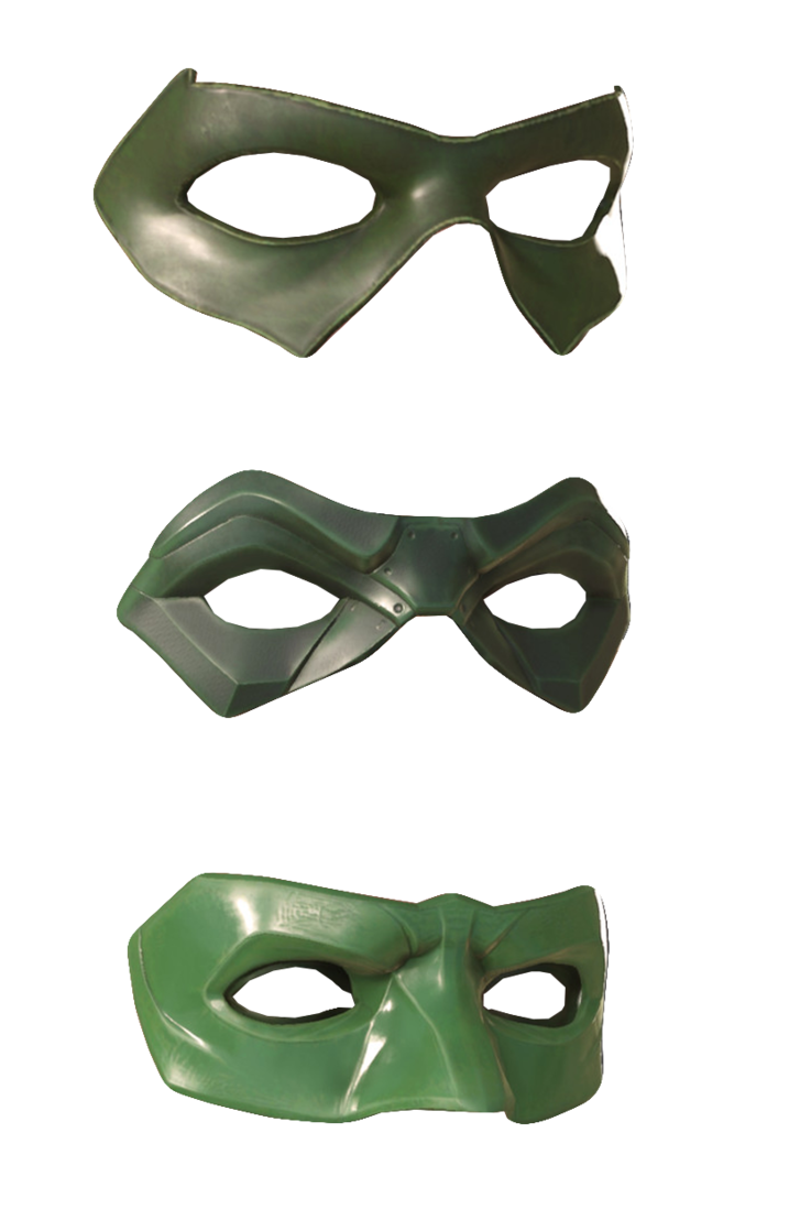 Domino mask png. Injustice masks by trickarrowdesigns