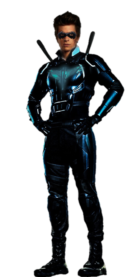 Nightwing render png. Andrew garfield by mrvideo