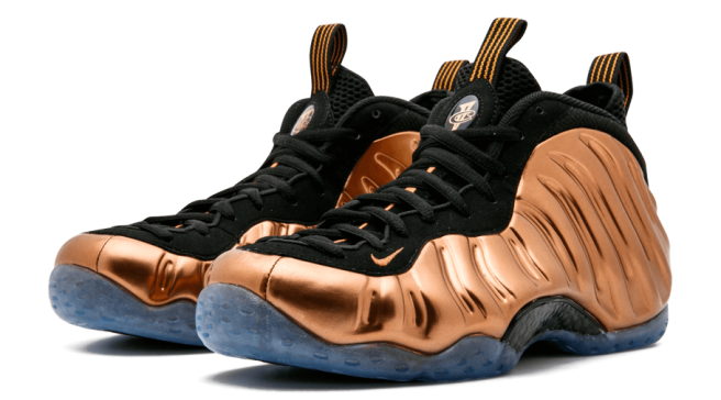 Nike air foamposite one denim png. Sole collector copper ones