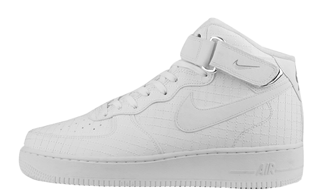 Nike air force 1 png. Lv mid elevate white
