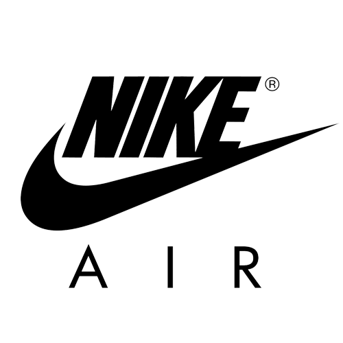 Hoodshop . Nike air logo png banner black and white stock