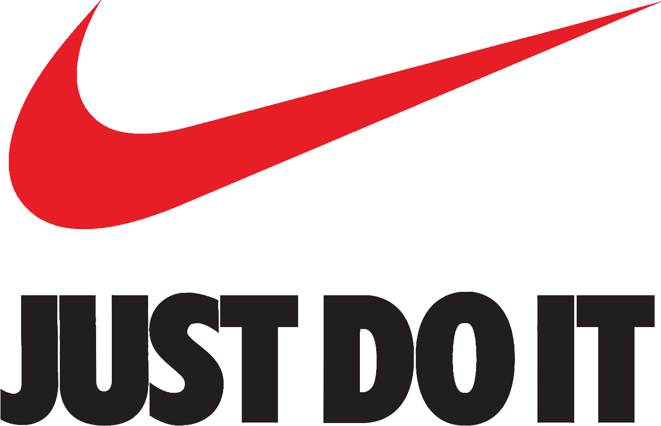 Nike just do it logo png. Swoosh brand transprent free