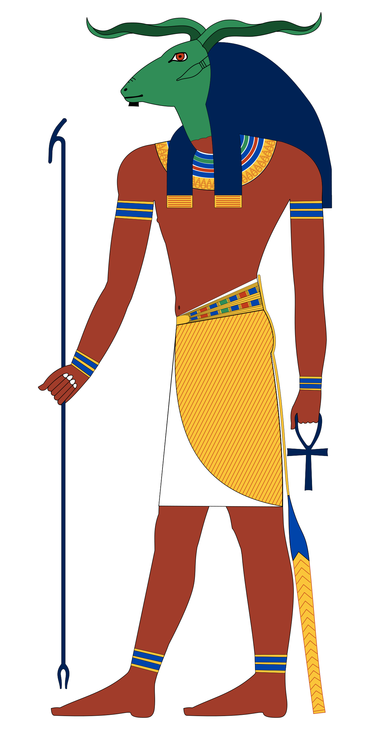 Nile river png. Khnum wikipedia