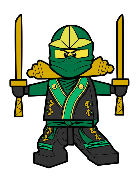 Ninja clipart green ninja. Lego ninjago at getdrawings