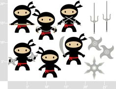 Personal and limited commercial. Ninja clipart karate clip art freeuse library