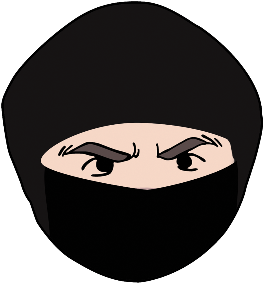 Ninja head png. Brian grump by nicktonyous