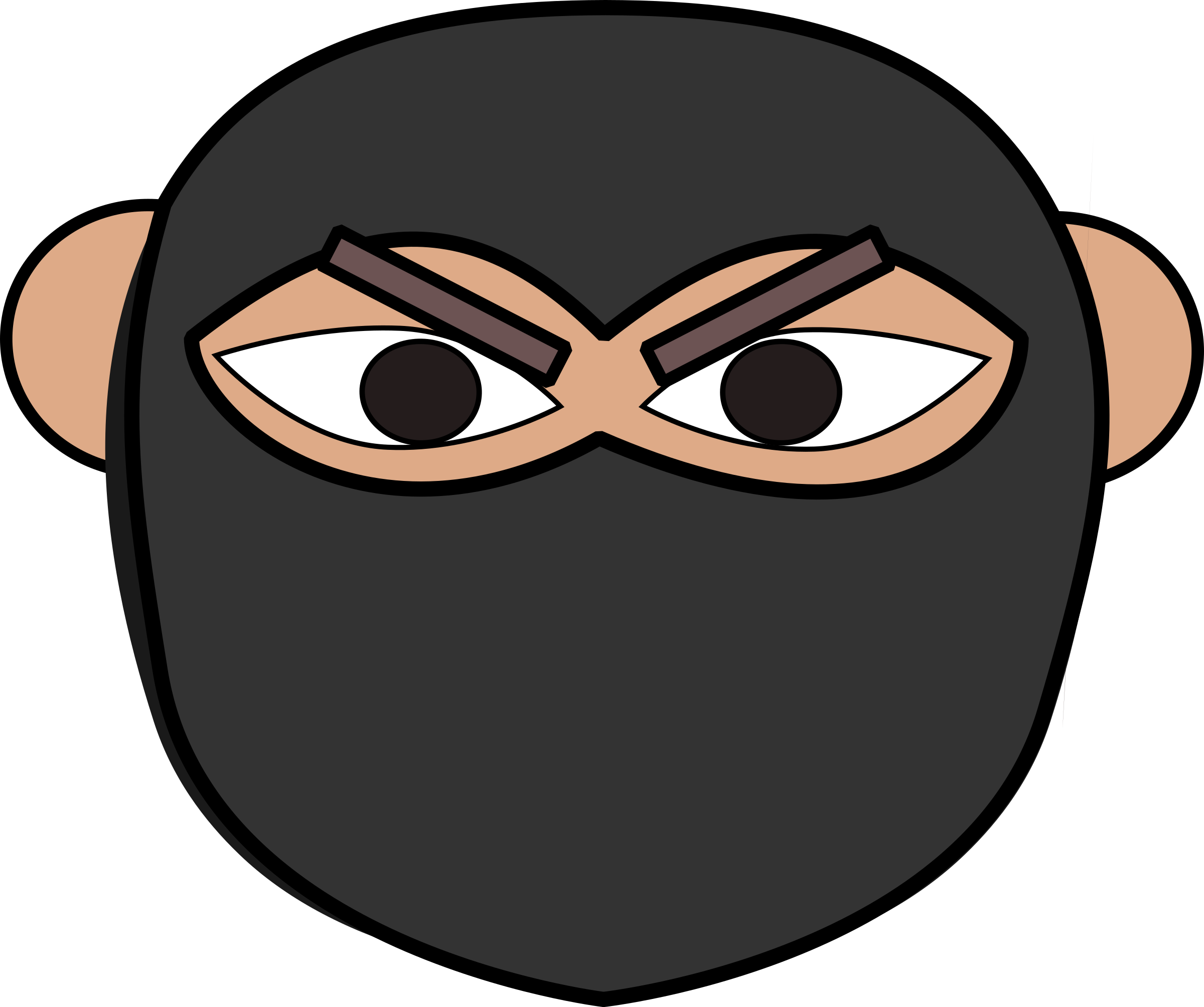 Ninja head png. Icons free and downloads