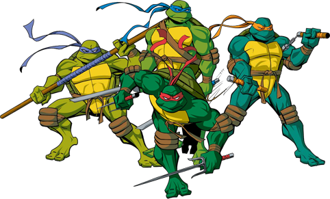 teenage mutant ninja turtles png