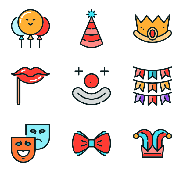 Research vector flat. Eye icons free carnival