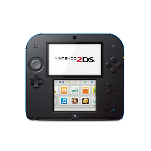 2ds transparent blue. Colour range nintendo ds