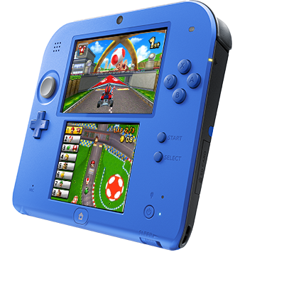 2ds transparent blue. Buy now nintendo ds