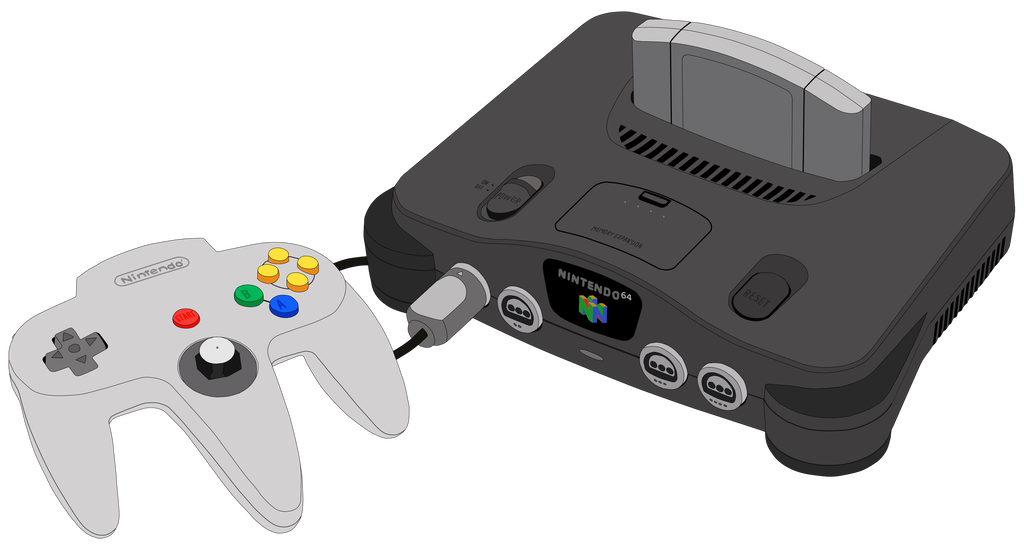 Nintendo 64 drawing png. Console by mrplymouth on