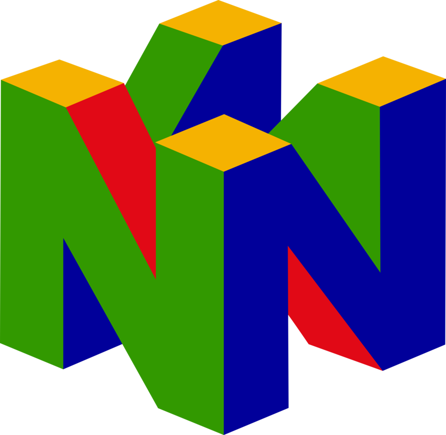 Nintendo 64 logo png. By ggrock on deviantart