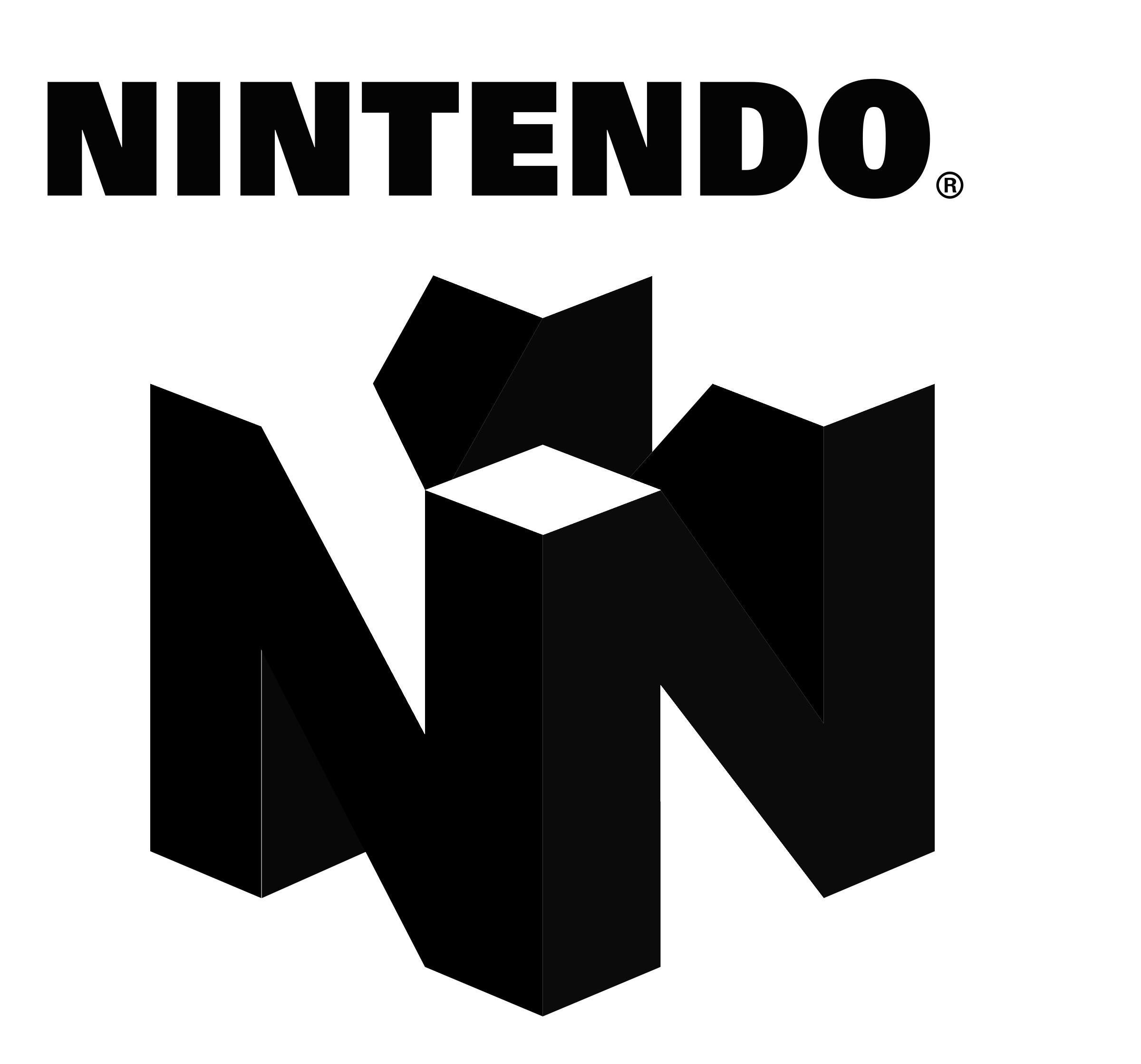 Nintendo 64 logo png. N transparent svg vector