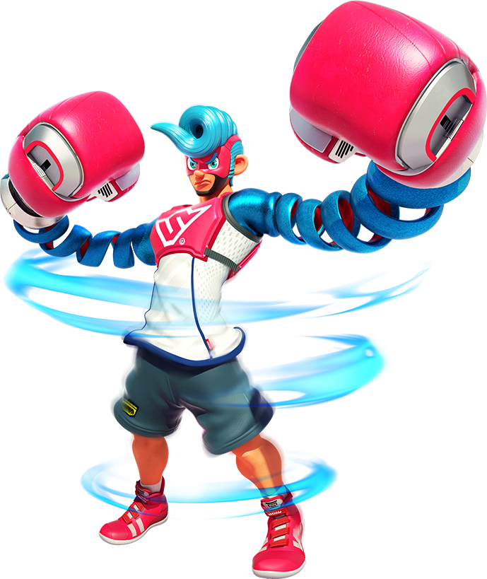 Nintendo arms png. For switch official site