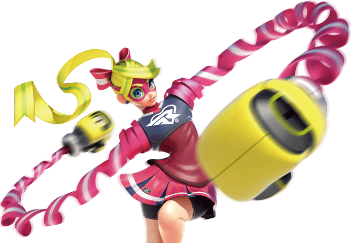 Nintendo arms png. Ribbon girl switch guides