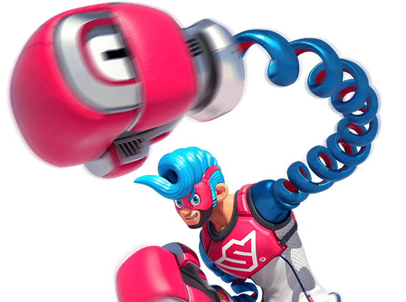 Nintendo arms png. Spring man switch guides