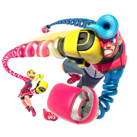 Nintendo arms png. Image ribbon girl and