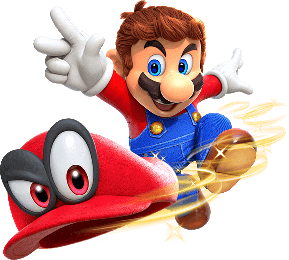 Nintendo mario png. Super odyssey for the