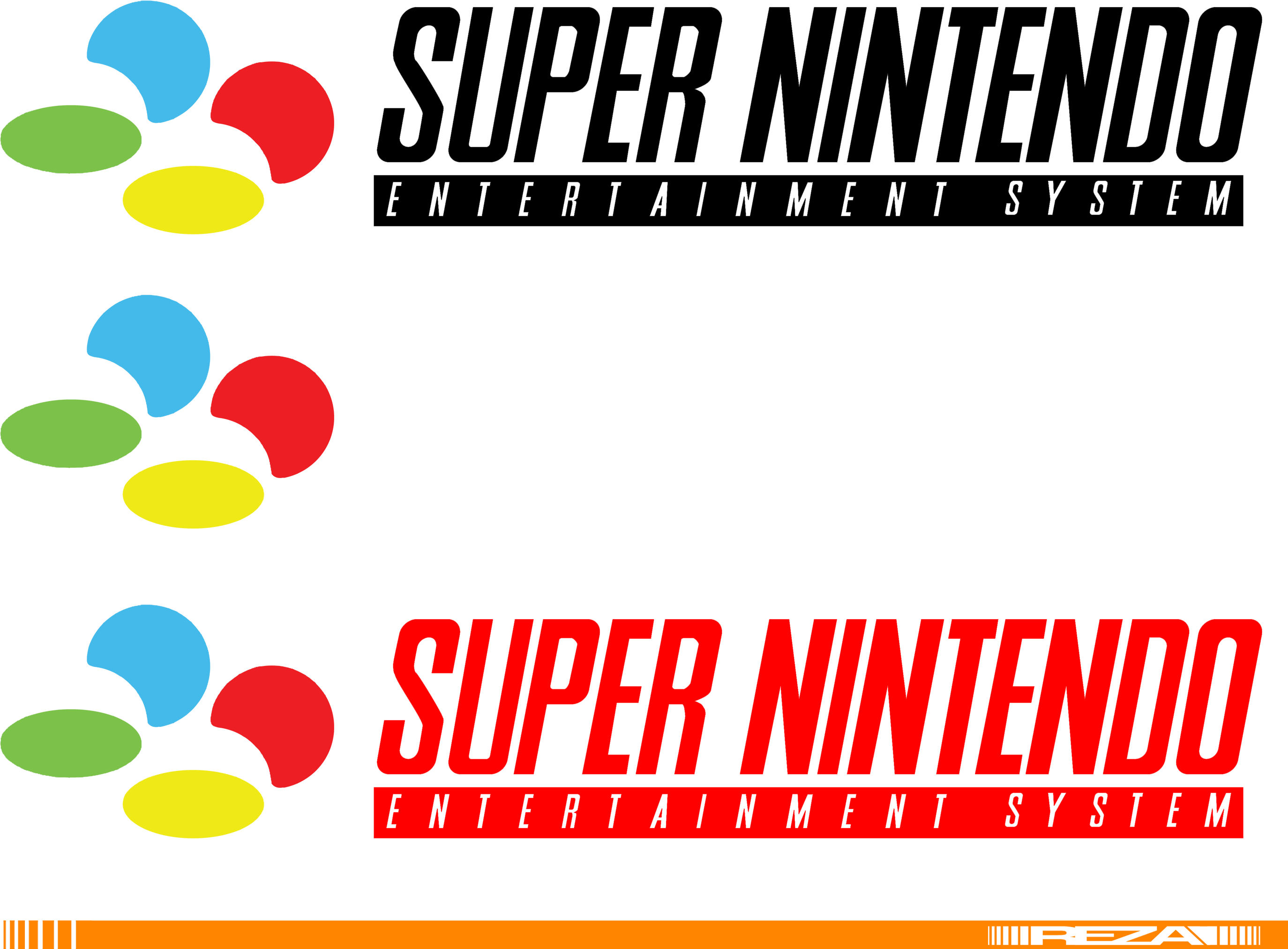 Nintendo entertainment system logo png. Download hd snes color