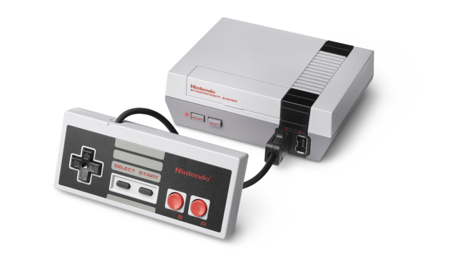 Nintendo entertainment system png. Image nes classic edition