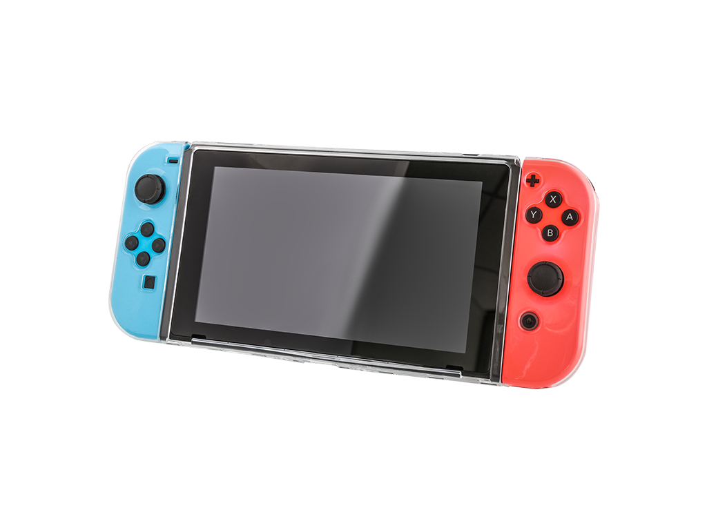 Nintendo switch case transparent png. Thin clear for nyko