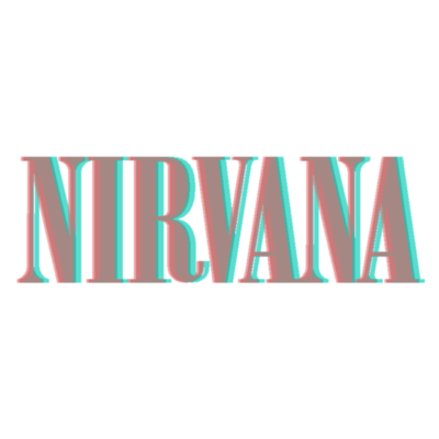 Nirvana transparent emblem. Image in collection by