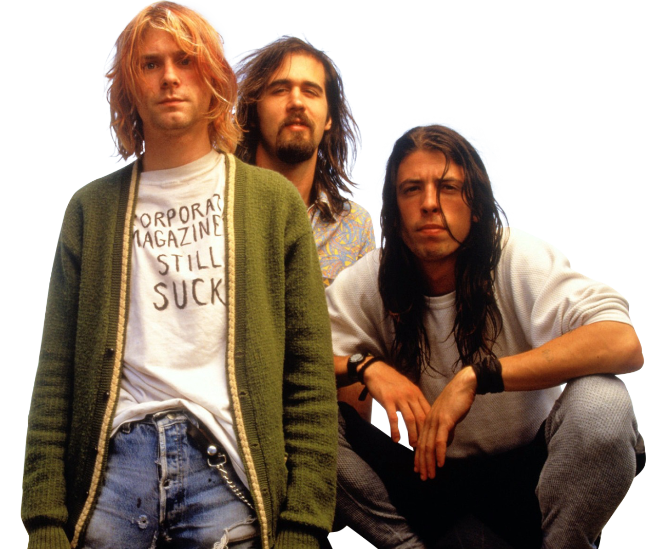 Nirvana transparent background. What is a