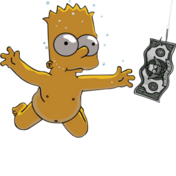 Nirvana nevermind icon download. Simpsons drawing bart simpson clip art freeuse stock