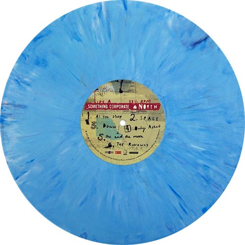Nirvana transparent nevermind colored vinyl. Something corporate north records