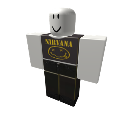 Nirvana transparent roblox. Top with black jeans